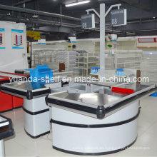 Supermercado de tamaño grande Montar comprobante de pago en efectivo con acero