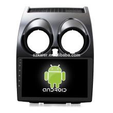 Núcleo Octa! Android 8.1 carro dvd para Nissan Qashqai 2008-2014 com 9 polegadas Tela Capacitiva / GPS / Link Espelho / DVR / TPMS / OBD2 / WIFI / 4G