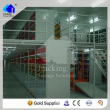 Almacén de acero prefabricado, entresuelo de almacenaje de almacén de acero de la caja de herramientas y plataforma