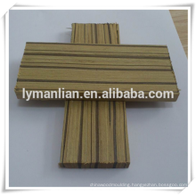 engineered zebra decorative wood furniture moulding for indian market