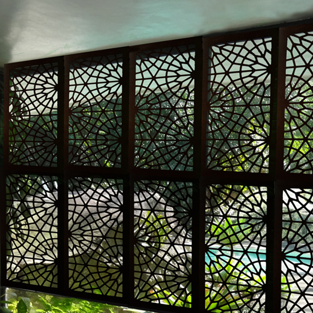 Decorative Metal Garden Privacy Screen Panels