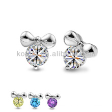 Wholesale china manufacturer jewelry 925 silver earrings
