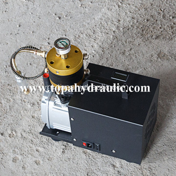 Dental mobile breathing air compressor