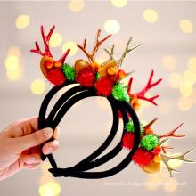 Cute Hair Accessories Elk Antlers Hair Band Christmas Hair Head Band