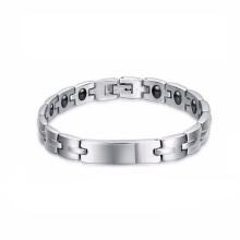 Bijoux en acier inoxydable à la mode couplelifetrons santé bracelet