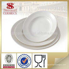 professional custom hotel used platter , fine porcelain table dinner plate