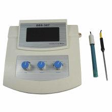 Medidor de conductividad del agua de laboratorio