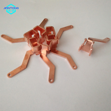 Wall Switch metal estampagem Copper Spring Contatos