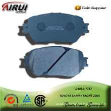 semi-metallic car brake pad for TOYOTA CAMRY FRONT 2004