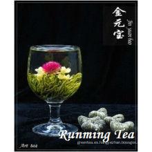 Jing Yuan Bao (Té floreciente blanco del corazón dulce RMT-BMW034) ESTÁNDAR DE LA UE