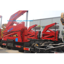 MQH37A Baru 40'HQ 37t Container Lift Crane Trailer