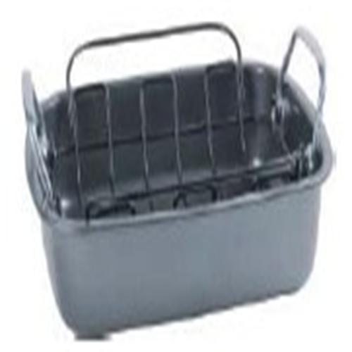 Non-stick Deep Roast Pan with Removable Rack