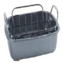 Carbon Steel Non-stick Deep Roast Pan with Removable Rack