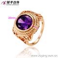 12487- Xuping Jewelry Fashion élégant plaqué or bague pour homme