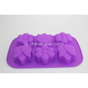 Eco-friendly Silicon Tulip Sakura Cake Mould