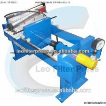 Presse-filtre de Leo petite taille manuelle 800 filtre presse pour les tests de laboratoire