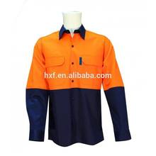 Safety Short Sleeves Drill Shirt