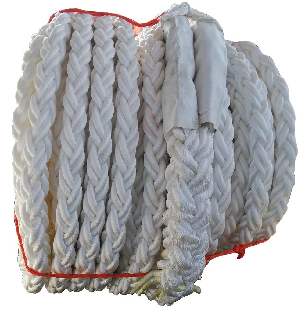 8-strand polypropylene filament rope