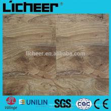 Revêtement de sol stratifié en relief / plancher stratifié imperméable à 100%