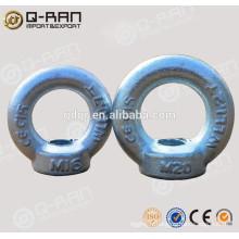 Ancre oeil écrou d'ancrage galvanisé DIN582/gréement Eye