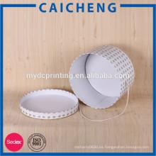 Cajas de sombrero redondo con tapas