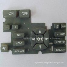 Elastic Silkscreen Silicone Rubber Keypad