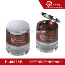Professional factory empty custom cosmetic packaging loose powder container
