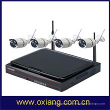 10-Zoll-LCD-Bildschirm HD 1080p Bewegungserkennung IP-Kamera wifi Überwachungskamera WIFI NVR KIT