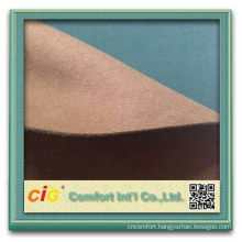 Microfiber fabric leather 100% polyester microfiber fabric pa coating micro fiber leather