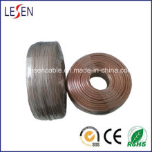 Transparent Speaker Cable with OFC or CCA Conductor