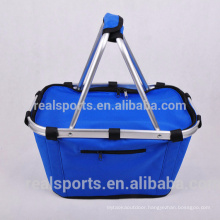 Plain Safe Foldable Cooler Bag Lunch Bag Cooler For Picnic Lunch Cooler Bag