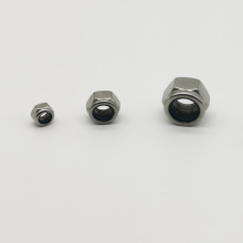 Grade 304 Stainless Steel Nylon Lock Nuts