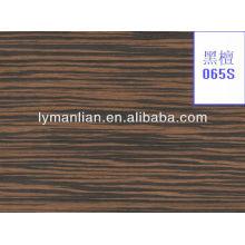 2013 nuevo diseño de moda de chapa de madera exótica