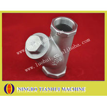 stainless steel union tee with precision casting