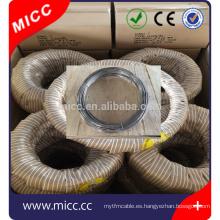 Cable de elemento de calentamiento eléctrico MICC embalado en rollo