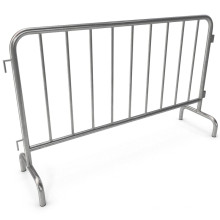 Hot Dipped Galvanized metal crowd control barriers / removable temporary fence