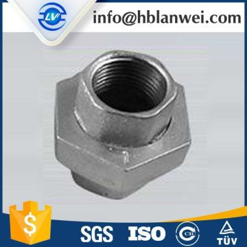 High pressure gi malleable iron pipe fittings