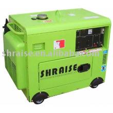 Soudeuse diesel silencieuse refroidie par air avec générateur