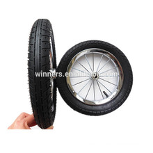 12 inch chrome rim baby stroller wheel