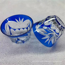 pequena tigela de vidro para decoração