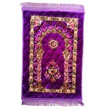 Islam Mosque Travel Prayer Mats Compass Booklet Portable Pocket Muslim Prayer Mat