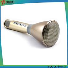Micrófono inalámbrico de Bluetooth para el hogar Fiesta al aire libre de KTV con altavoz y registro de voz