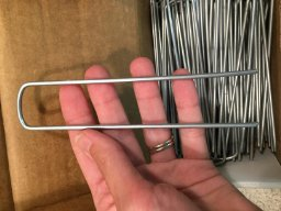6-Inch-Galvanized-Garden-Landscape-SOD-Staples-Stakes-Pins-Anchor-Staples