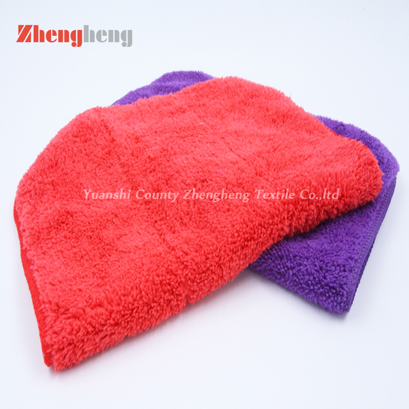 Polyester Coral Fleece Towel (10)