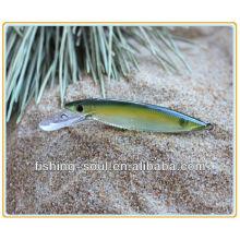 MNL022 7см 3г Оптовая Пластиковые приманки Гольян 3D глаза для рыбалки приманки