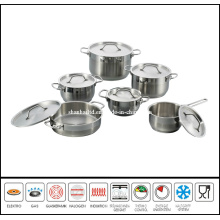 Stainless Steel Pot and Pan Set