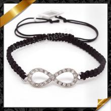 Joyería de la pulsera de la manera con los accesorios de la cuerda de los encantos (fb070)