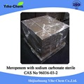 High purity Meropenem with sodium carbonate sterile