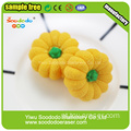 Pumpkins vegetal Eraser, borracha limpa