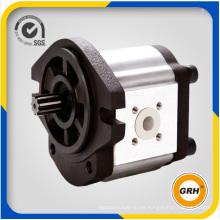 Motor de engranajes de aceite hidráulico de aluminio del grupo 2
